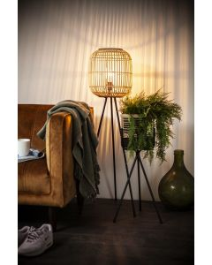 Vloerlamp Sunlight Small By-Boo bamboe naturel