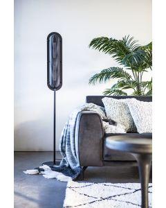 Bernini vloerlamp zwart geperforeerd metaal