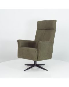 Draaifauteuil REC-Dronto met hoge rug in vele kleuren & materialen leverbaar