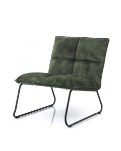 Eleonora Fauteuil Ruby Adore hunter groen velours stof
