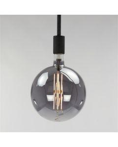 Filament LED-Lamp bol 20 cm dimbaar E27 fitting smoke grey glas