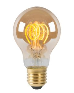 Filament LED-Lamp Bol 6 cm spiraal E27 grote fitting aan