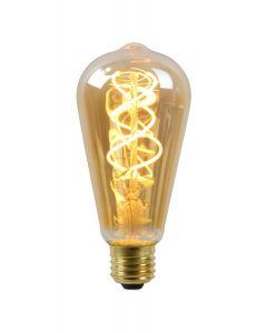 Filament LED-Lamp peer 6,4 cm spiraal E27 grote fitting