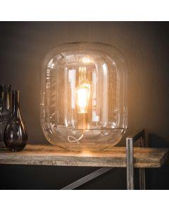 Glazen tafellamp Stolp 1L