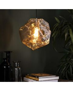 Hanglamp Rock Chromed 1L