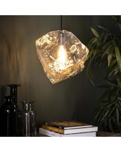 Hanglamp Rock Clear 1L
