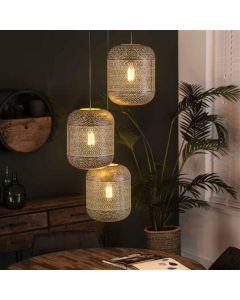 Hanglamp Etch 3L getrapt