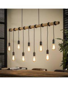 Hanglamp 9L bamboo wikkel