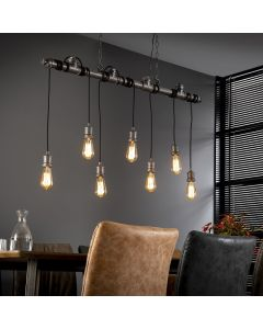 Industriele hanglamp 7L industrial tube wikkel aan