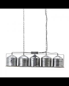 Hanglamp Minack 5 lichtpunten metaal large