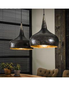 Hanglamp trechter 2 lichts 40 cm rond industrieel