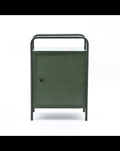 Metalen kastje Locksmith By-boo groen 50 cm breed