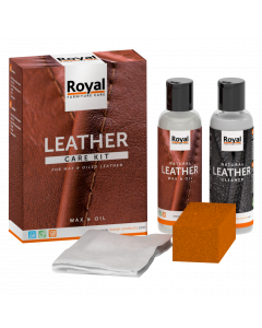 Oiled and Waxed Leather care kit