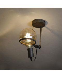 Plafondlamp 1L Saturn voor 12,5cm lichtbron