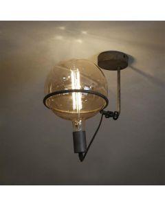Plafondlamp 1L Saturn voor 20cm Lichtbron