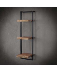 Wandplank Edge 30 cm en 100 cm hoog acaciahout