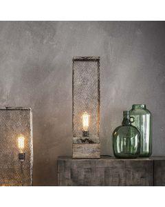tafellamp-rechthoek-mesh-houten-voetje-1l