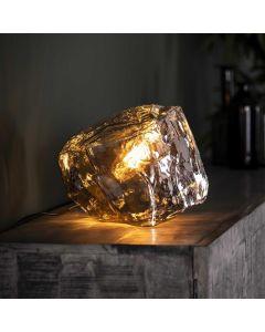 Tafellamp Rock Chromed 1 lichts