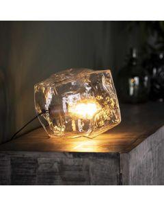 Tafellamp Rock Clear 1 lichts