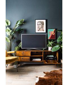 Tv-meubel Wisconsin 150 cm Eleonora mangohout