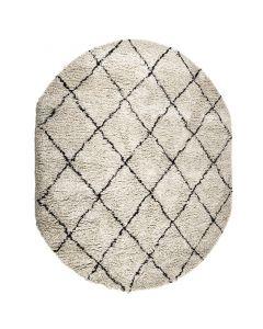 Vloerkleed Rox ovaal By-Boo 200 x 300