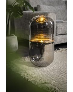 Vloerlamp Halo By-Boo glas