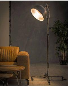 Vloerlamp Industry op wieltjes 1L