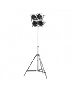 Vloerlamp Minack By-Boo metaal small 4 lichts