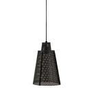 Hanglamp rond Apollo by-Boo zwart metaal groot