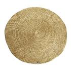 Vloerkleed 100% jute By-boo rond 220cm doorsnee geel