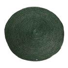 Vloerkleed 100% jute By-boo rond 220cm doorsnee groen